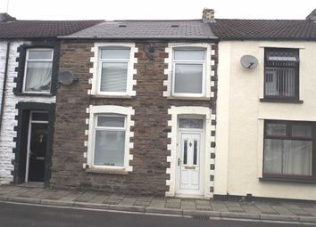 Thumbnail 3 bed terraced house for sale in Lee Street, Pwllgwaun, Pontypridd