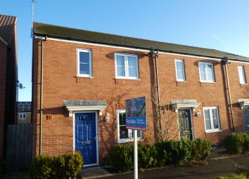 Thumbnail 3 bedroom end terrace house for sale in Sanders Close, Upper Stratton, Swindon
