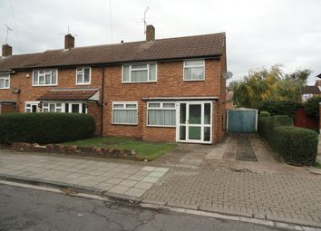 Thumbnail 3 bed end terrace house for sale in Vanbrough Crescent, Northolt