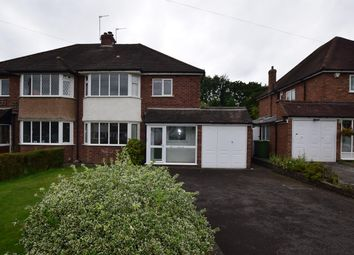 Thumbnail 3 bed semi-detached house for sale in Cambridge Avenue, Solihull