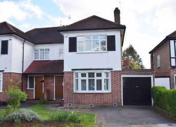 Thumbnail 3 bed semi-detached house for sale in Dawlish Drive, Pinner