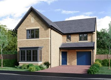 "Thumbnail 4 bed detached house for sale in ""The Fenwick Alternative"" at Coach Lane, Hazlerigg, Newcastle Upon Tyne"