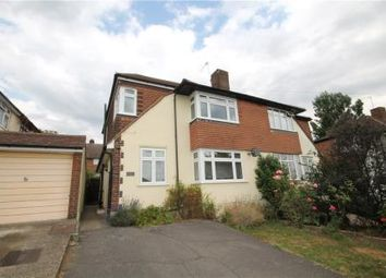 Thumbnail 4 bed semi-detached house for sale in The Crescent, Epsom