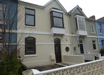 Thumbnail 3 bedroom terraced house for sale in Old Laira Road, Laira, Plymouth