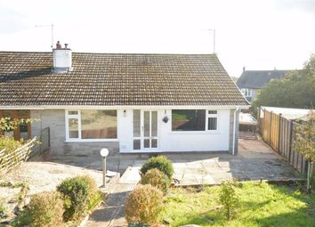 Thumbnail 2 bed semi-detached bungalow for sale in Cefn Draw, Three Crosses, Swansea