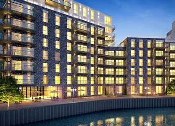 Thumbnail 3 bed flat for sale in Leven Wharf, Leven Road, London