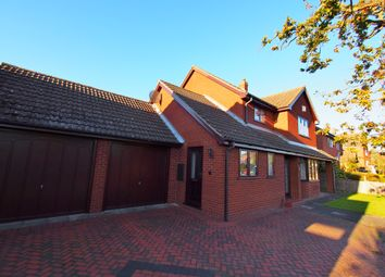 Thumbnail 4 bed detached house for sale in Norwich Road, Wymondham