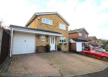Thumbnail 3 bed detached house for sale in Wilders Close, Frimley, Surrey