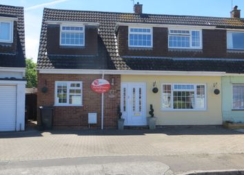 Thumbnail 4 bed semi-detached house for sale in Kingfisher Road, Worle, Weston Super Mare
