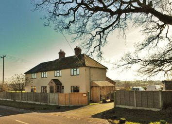 Thumbnail 4 bed detached house for sale in Stone Road, Bramshall, Uttoxeter