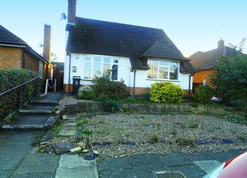 Thumbnail 1 bed bungalow to rent in Sunnyfield Close, Leicester