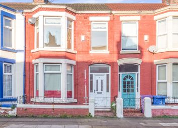 Thumbnail 4 bed terraced house for sale in Claremont Road, Wavertree, Liverpool