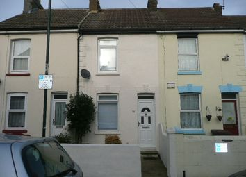 Thumbnail 3 bed terraced house to rent in Trafalgar Street, Gillingham