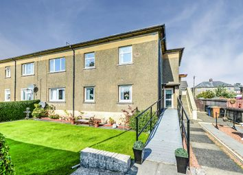 Thumbnail 3 bed flat for sale in Crosslet Road, Dumbarton