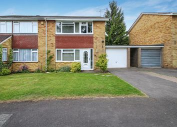 Thumbnail 3 bed semi-detached house for sale in Hayfield Drive, Hazlemere, High Wycombe