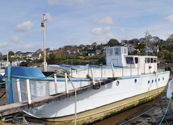 Thumbnail 4 bed houseboat for sale in Mylor Creek Boatyard, Mylor Bridge, Falmouth