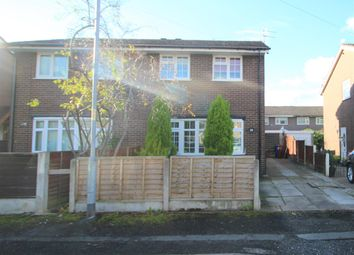 Thumbnail 3 bed semi-detached house to rent in Porthleven Drive, Manchester