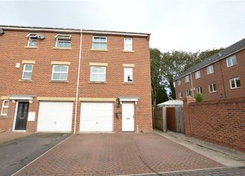 Thumbnail 3 bed town house for sale in Nursery Close, Kippax, Leeds, West Yorkshire