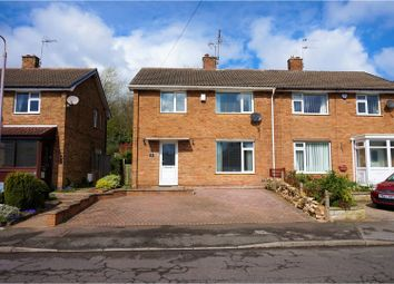 Thumbnail 3 bed semi-detached house for sale in Egmanton Road, Mansfield