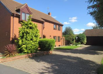 Thumbnail 4 bed detached house for sale in Wetherby Close, Queniborough