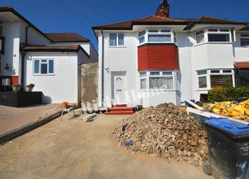 Thumbnail 4 bedroom semi-detached house to rent in Oakington Manor Drive, Wembley, Middlesex