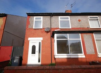 Thumbnail 3 bed terraced house to rent in Acton Road, Blackpool