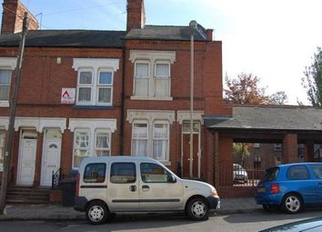 Thumbnail 3 bed terraced house to rent in Halstead Street, Off St Saviours Road, Leicester