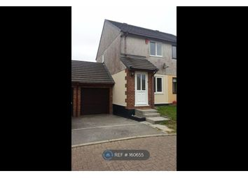 Thumbnail 2 bed semi-detached house to rent in Penhale Gardens, Fraddon