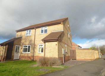 Thumbnail 2 bed semi-detached house to rent in Foxglove Close, Abbeymead, Gloucester