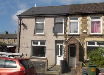 Thumbnail 3 bed end terrace house to rent in Commercial Street, Beddau, Pontypridd