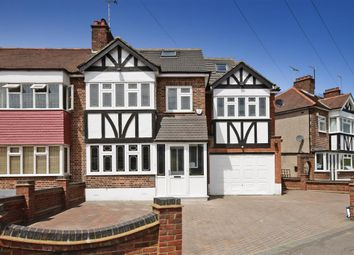 Thumbnail 6 bed end terrace house for sale in Glastonbury Avenue, Woodford Green, Essex