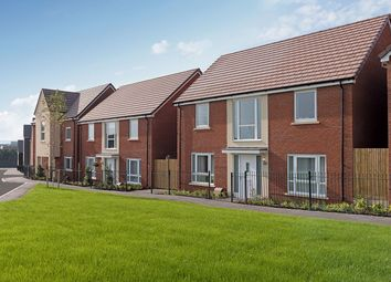 "Thumbnail 4 bedroom detached house for sale in ""The Bradenstoke"" at Amesbury Road, Longhedge, Salisbury"