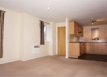 Thumbnail 1 bed flat for sale in Black Swan Crescent, Peterborough