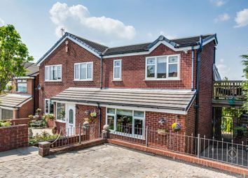 Thumbnail 4 bed detached house for sale in Brown Lodge Drive, Smithy Bridge