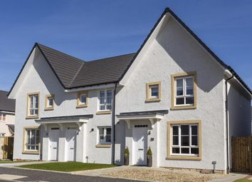 "Thumbnail 3 bedroom semi-detached house for sale in ""Cawdor"" at Kirkton North, Livingston"