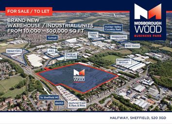 Thumbnail Land to let in Halfway, Sheffield
