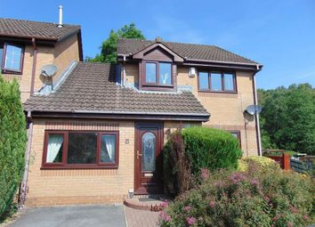 Thumbnail 3 bed semi-detached house for sale in Heol Celynen, Coed-Y-Cwm, Pontypridd