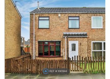 Thumbnail 3 bed end terrace house to rent in Emmerson Place, Shiremoor, Newcastle Upon Tyne
