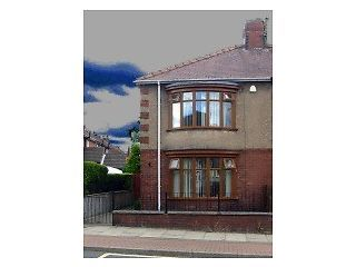 Thumbnail 2 bed semi-detached house to rent in Dale Road, Shildon