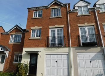 Thumbnail 3 bed town house to rent in Gibson Close, Stafford