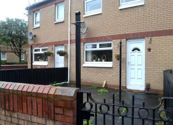 Thumbnail 1 bed terraced house to rent in Claythorn Avenue, Glasgow