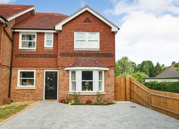 Thumbnail 3 bed semi-detached house for sale in Rowplatt Lane, Felbridge, Surrey