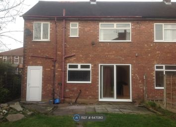 Thumbnail 3 bed semi-detached house to rent in Old Moat Lane, Manchester