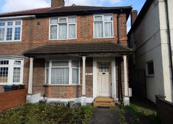 Thumbnail 3 bed semi-detached house to rent in Vicarage Farm Road, Heston, Hounslow