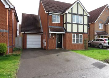 Thumbnail 4 bed detached house for sale in Edison Drive, Yaxley, Peterborough