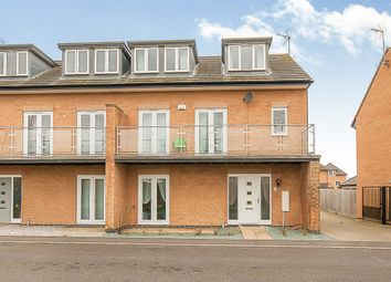 Thumbnail 4 bed semi-detached house for sale in Coppen Road, Hampton Vale, Peterborough