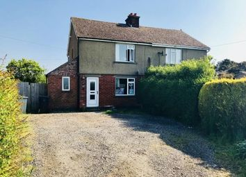 3 bed semi-detached house for sale in Council House, Wainfleet Road, Thorpe St. Peter, Skegness PE24