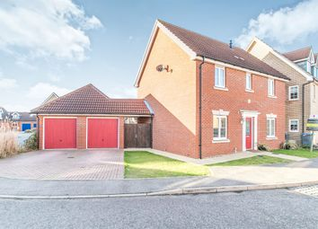 Thumbnail 4 bed detached house for sale in Ferguson Way, Kesgrave, Ipswich
