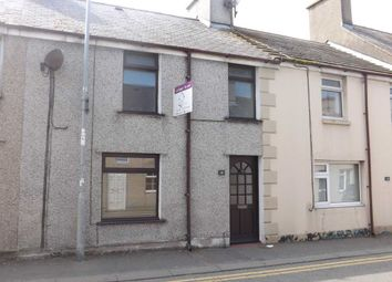 Thumbnail 3 bed terraced house to rent in London Road, Holyhead