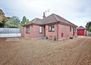Thumbnail 3 bed detached bungalow for sale in Buxton Road, Spixworth, Norwich